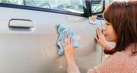 洗車の様子
